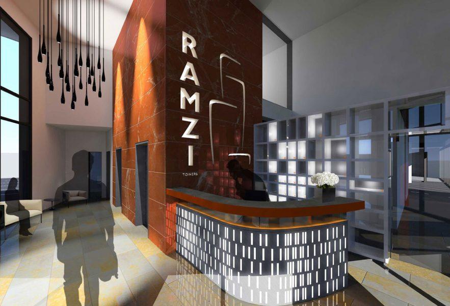 MAX Architects project Ramzi Towers Atrium