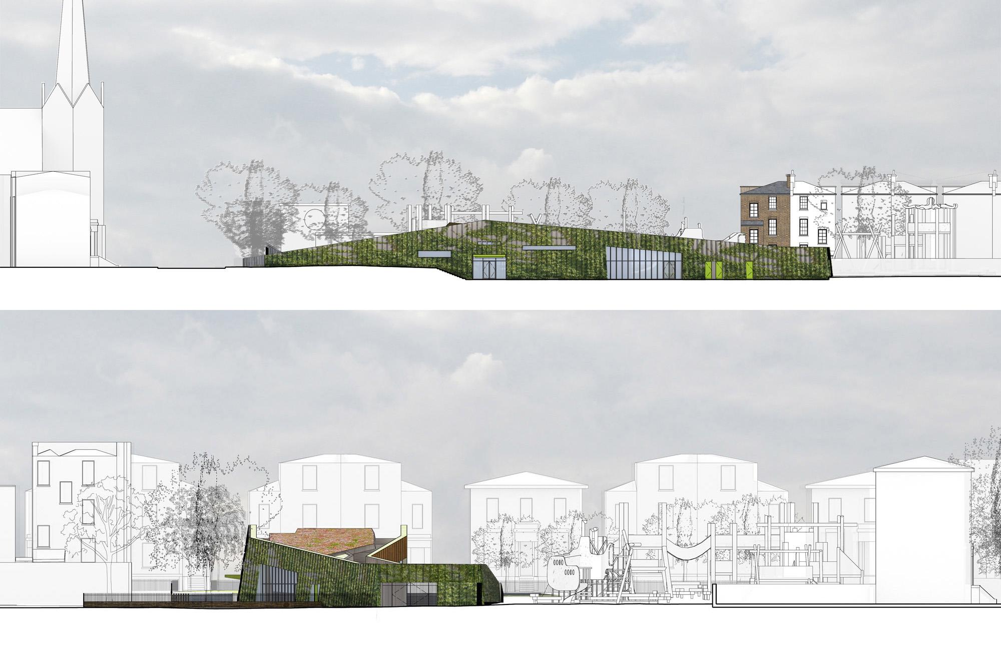 Slade Gardens Community Hub Granted Planning Permission Max Architects